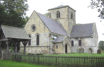 Bossall church