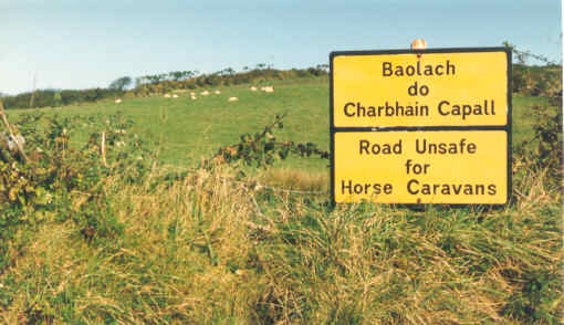 Sign in County Cork