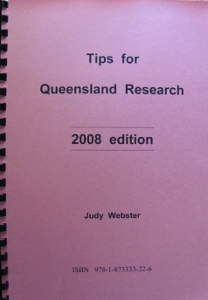 book Tips for Qld Research